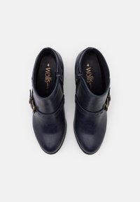 Wallis Wide Fit - WIDE FIT WANDERSON - Ankle boots - blue - 5
