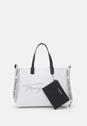 ICONIC TOTE SIGNATURE SET - Tote bag - white