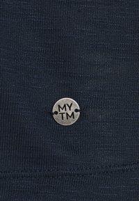 MY TRUE ME TOM TAILOR - OVERCUT SLEEVES - Basic T-shirt - sky captain blue - 4