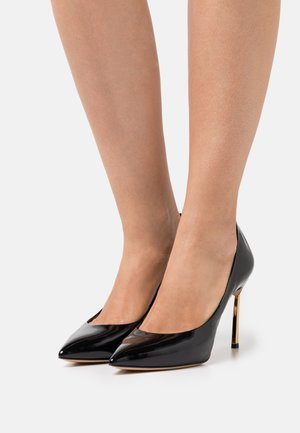 Classic heels - or/nero