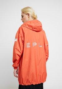Replay - Short coat - sliver/orange - 4