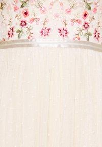 Needle & Thread - ELSIE RIBBON BODICE MAXI DRESS - Společenské šaty - champagne - 8