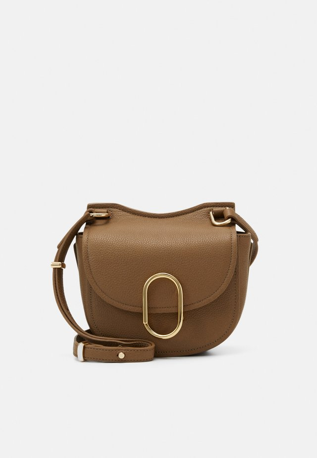 PASHLI NANO SATCHEL - Across body bag - coffee