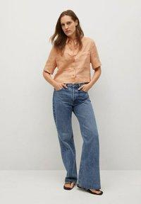 Mango - JENI - Button-down blouse - oranje - 1