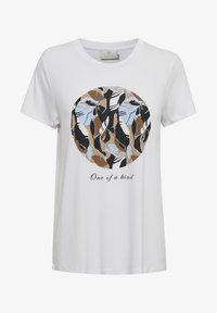 Kaffe - KAKISA - Print T-shirt - optical white - 3