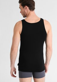 Sloggi - 24/7 2 PACK - Undershirt - black - 1