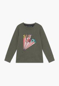 Blue Seven - KIDS ANIMAL PRINT - Sweater - khaki - 0