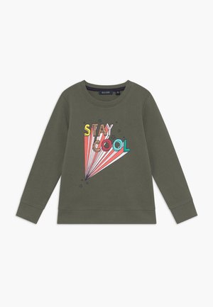 KIDS ANIMAL PRINT - Sweater - khaki