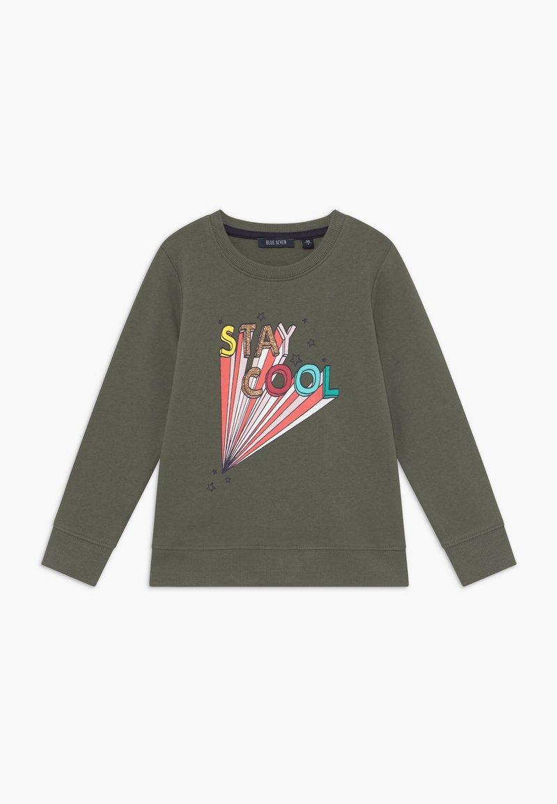 Blue Seven - KIDS ANIMAL PRINT - Sweater - khaki