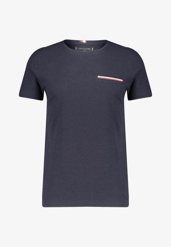 TOMMY HILFIGER HERREN T SHIRT - Basic T-shirt - marine (52)