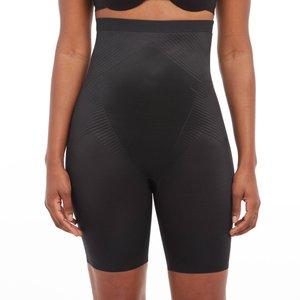 HIGH WAIST THIGH - Shapewear - very black