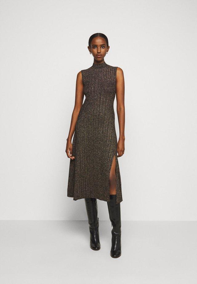 ROSETTE - Stickad klänning - noir
