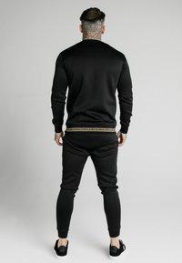 SIKSILK - ELEMENT CREW - Sweater - black/gold - 2
