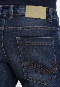 TOM TAILOR - JOSH - Slim fit jeans - mid stone wash denim - 5