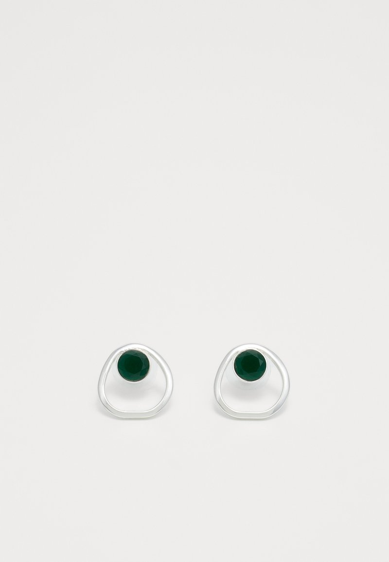 SNÖ of Sweden - LIW GLOBE - Earrings - silver-coloured