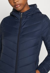 Hollister Co. - LIGHTWEIGHT PUFFER - Light jacket - navy - 5