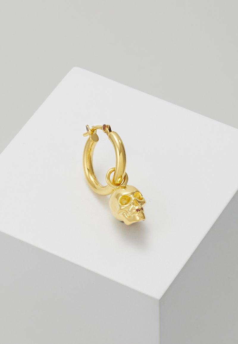 Northskull - ATTICUS SKULL HOOP EARRING - Boucles d'oreilles - gold-coloured