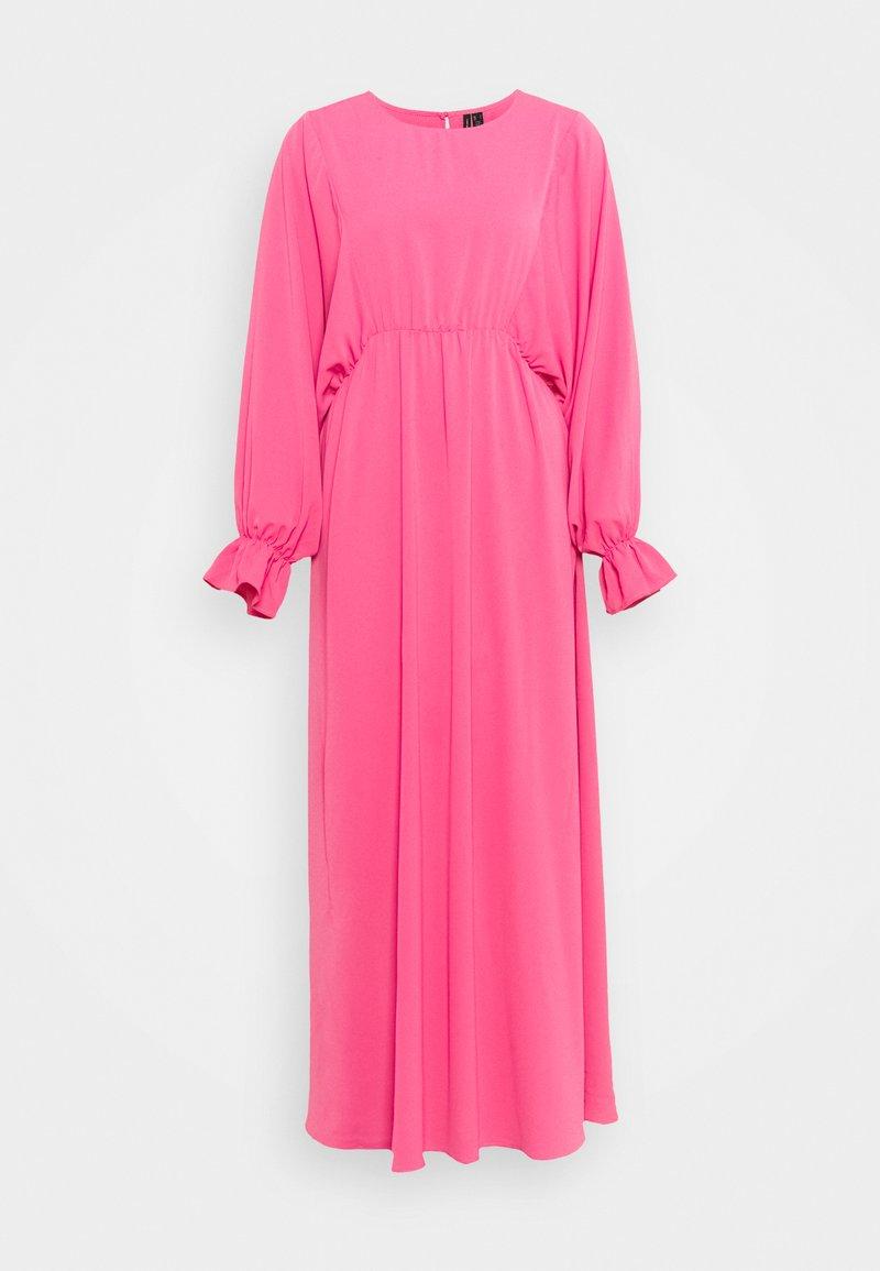 Vero Moda Tall - VMALLY WIDE ANKLE DRESS - Denní šaty - hot pink