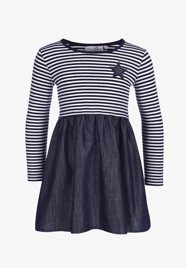 Jerseykleid - navy