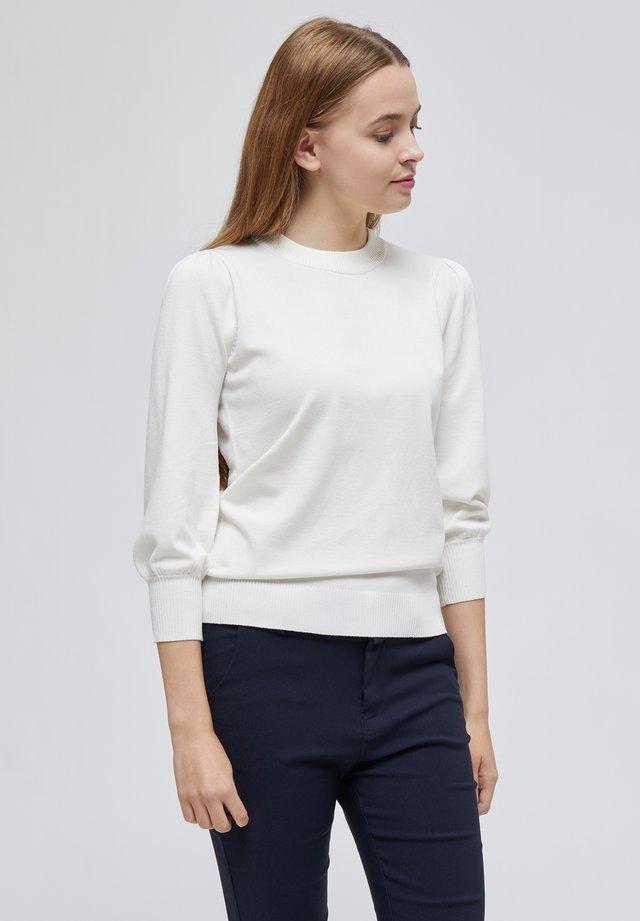 MERSIN - Stickad tröja - broken white