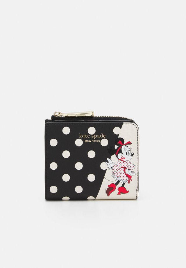 MINNIE MOUSE SMALL BIFOLD - Lommebok - black/multi