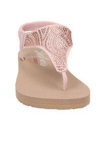 Skechers - MEDITATION - T-bar sandals - rose goud - 4