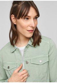 Q/S designed by - Denim jacket - mint - 5