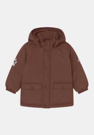 MINI JACKET 3D UNISEX - Winter jacket - dark brown
