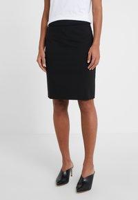 HUGO - THE PENCIL SKIRT - Pencil skirt - black - 0