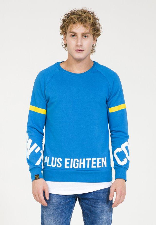 Sweatshirts - blau