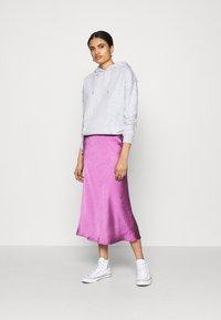 New Look - HOODY - Jersey con capucha - light grey - 1
