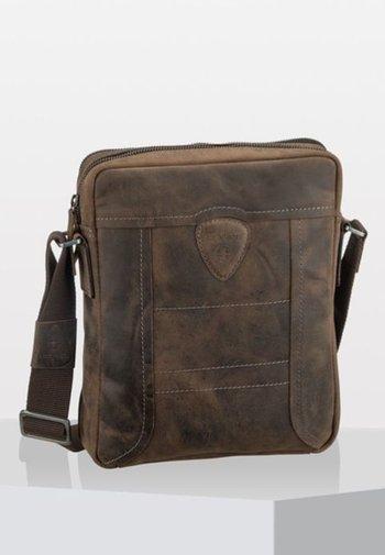 HUNTER - Across body bag - dark brown