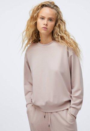TENCEL - Sweatshirt - beige