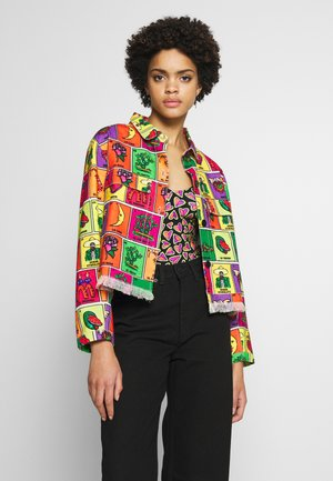 GUADALUPE JACKET - Džínová bunda - multicoloured