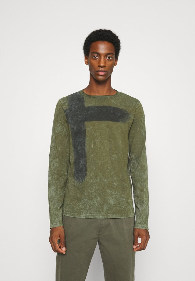 BOB ROUND - Long sleeved top - olive