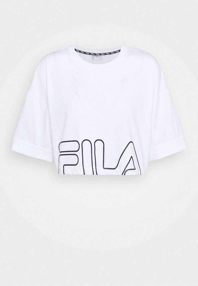 LAMIA - Print T-shirt - bright white