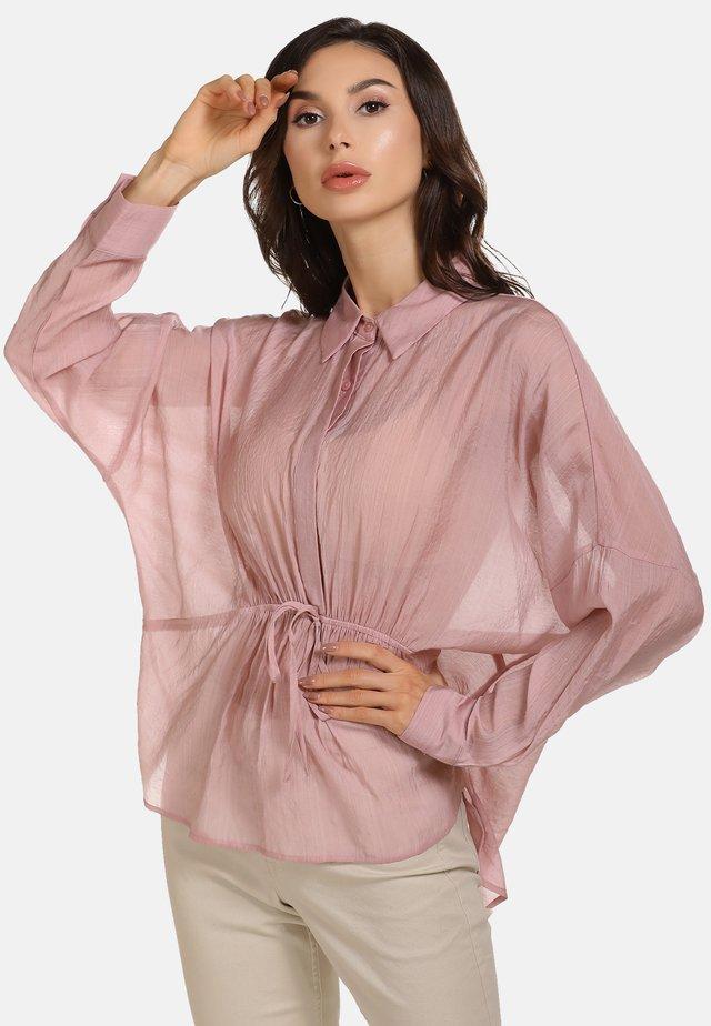 Skjortebluser - dunkelrosa