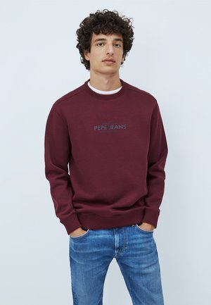 HORACE - Sweatshirt - wine