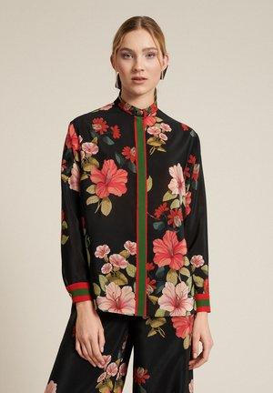 Camisa - var nero/corallo