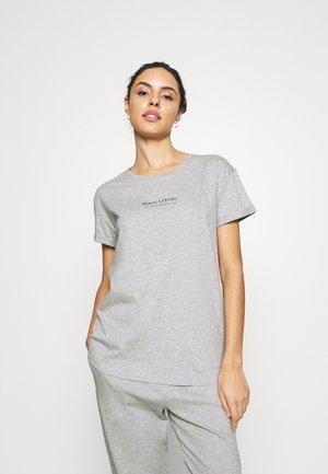 CREW NECK - Pyjama top - grau-meliert