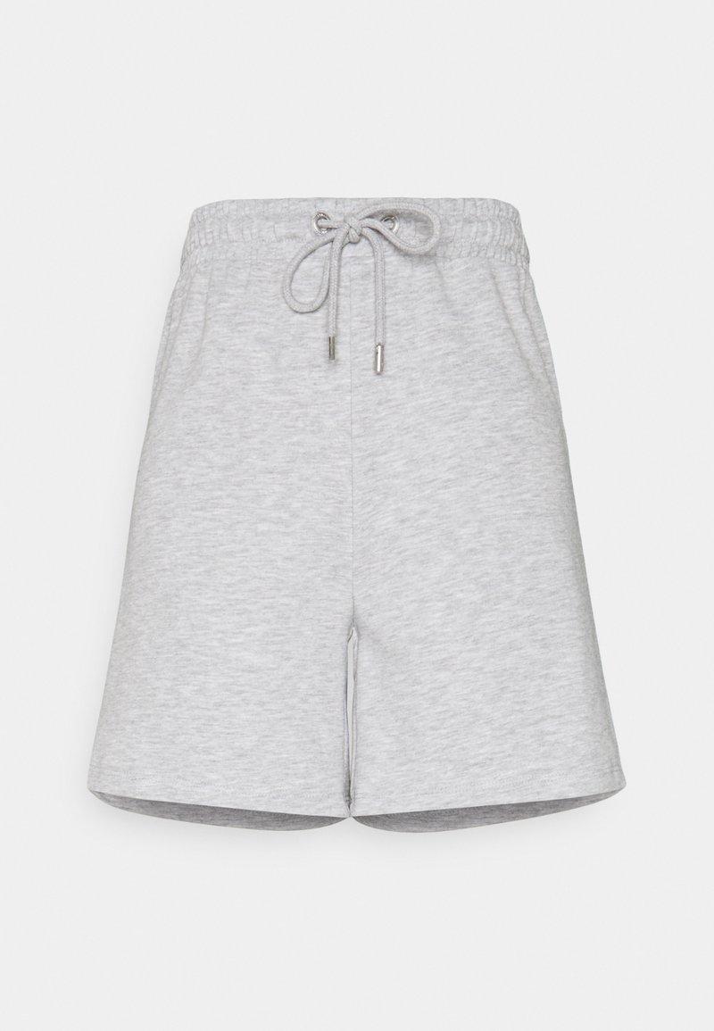 ONLY - ONLALAIA BERMUDA - Shorts - light grey melange