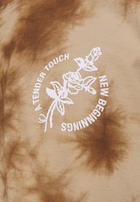 Revival Tee - NEW BEGINNINGS TEE TIE DYE UNISEX - Top s dlouhým rukávem - black/khaki - 5