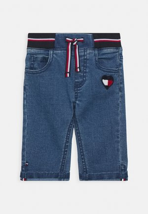 BABY GIRL FLAG PANTS - Džíny Slim Fit - denim