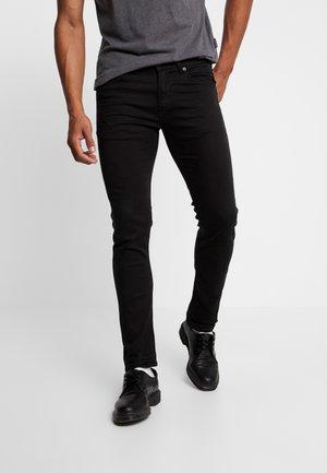 JONDRILL - Slim fit jeans - black