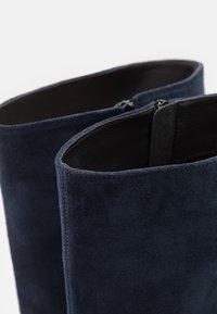Anna Field - LEATHER - Boots - dark blue - 5