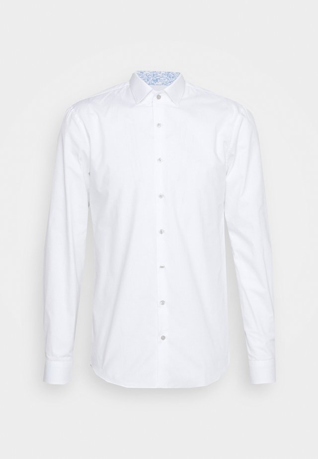 CONTRAST SLIM SHIRT - Formal shirt - white