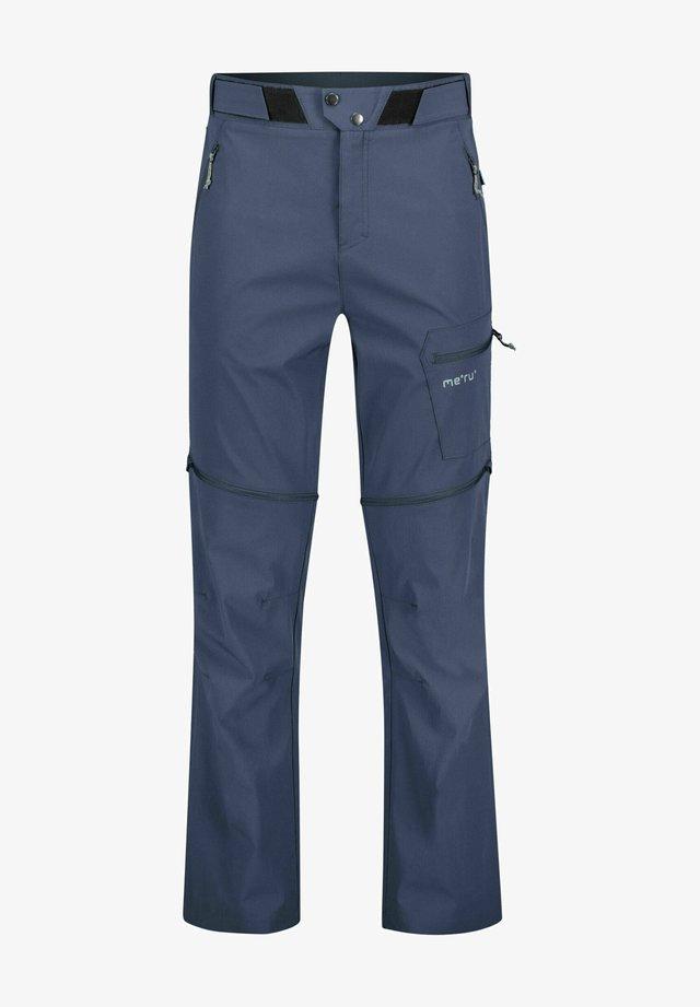 """ROTORUA ZIPP OFF"" - Pantalon classique - marine"