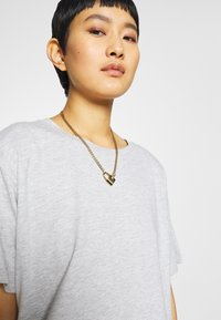 CALANDO - Basic T-shirt - mottled light grey - 4