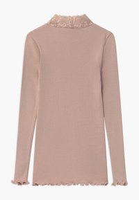 Rosemunde - ORGANIC TURTLENECK - Long sleeved top - vintage powder - 1