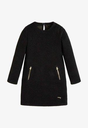 LUREX - Jumper dress - schwarz